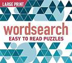 Cover of Large Print Wordsearch