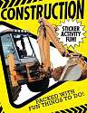 Cover of Construction Sticker Activity Fun