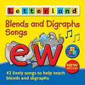 Cover of Letterland Blends & Digraphs Songs CD