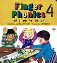 Cover of Jolly Phonics Finger Phonics Book 4