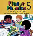Cover of Jolly Phonics Finger Phonics Book 5