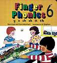 Cover of Jolly Phonics Finger Phonics Book 6