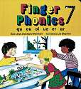 Cover of Jolly Phonics Finger Phonics Book 7