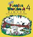 Cover of Jolly Phonics Workbook 4