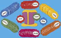 Cover of Jolly Phonics Tricky Word Wall Flowers