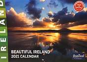 Cover of Beautiful Ireland A4 2021 Calendar