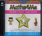 Cover of Maths4Me CD 1 and 2 Senior Infants