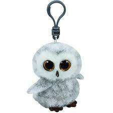 Cover of Beanie Boo Owlette Keyring - Ty Uk - 008421350209
