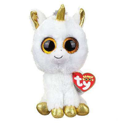 "Cover of Pegasus Unicorn - Beanie Boos 6"" - Ty Uk - 008421361793"