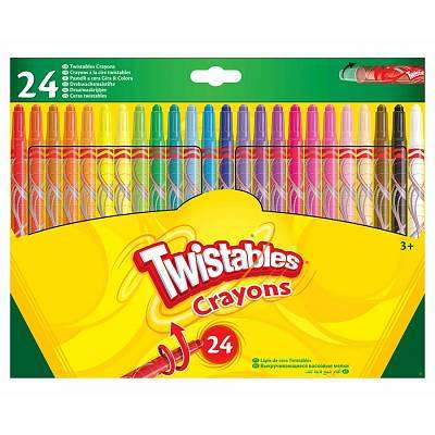 Cover of Crayola Twistables 24 Pack - Crayola - 071662528508