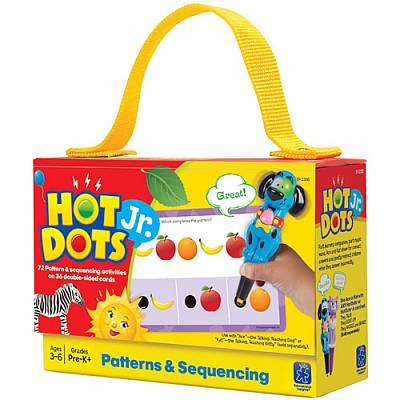 Cover of Hot Dots Jr. Patterns And Sequencing - Educational Insights - 086002023568