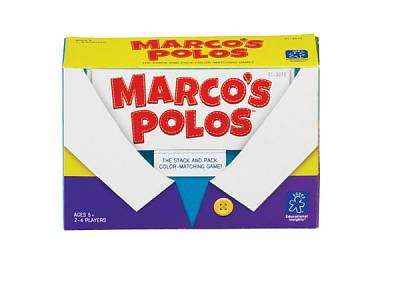 Cover of Marco Polos Stick & Match Game - Learning Resources - 086002030108