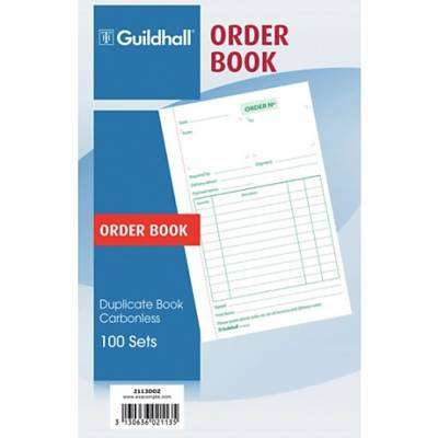 Cover of Order Book 100s - 3130636021135