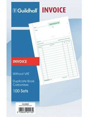 Cover of Invoice Book 100s - 3130639021132