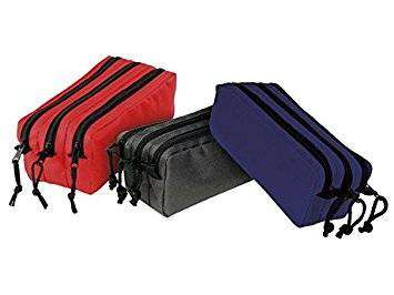 Cover of Three Compartment Pencil Case Primary Colours - Viquel - 3135257773487