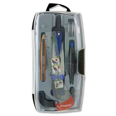Cover of Maped 6pce Technic Compact Compass Set - 3154140387068
