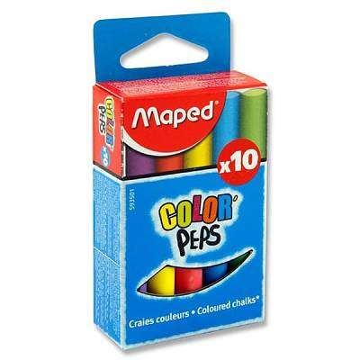 Cover of Maped Box 10 Chalk - Color'peps - 3154145935011