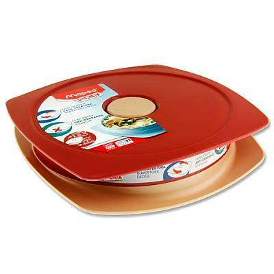 Cover of Maped Picnik Concept 900ml Lunch Plate - Brick Red - 3154148702023