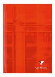 Cover of Clairefontaine A4 Hardback 192 Page Notebook - 3329680904604