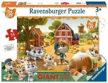 Cover of 44 Cats Giant Floor Puzzle 24 piece puzzle - Ravensburger - 4005556030156