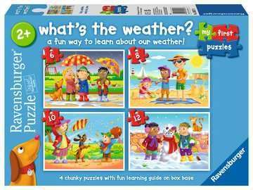 Cover of What's the Weather? (6,8,10,12 puzzle pieces) - Ravensburger - 4005556030576