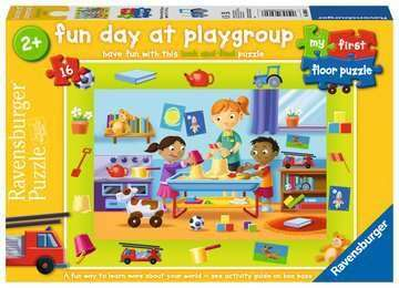 Cover of Fun Day at Playgroup My First 16 piece puzzle - Ravensburger - 4005556030606