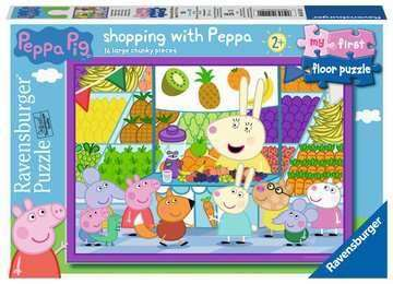 Cover of Peppa Pig My First Floor Puzzle 16 piece - Ravensburger - 4005556051120