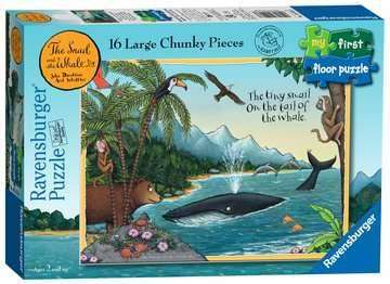 Cover of The Snail & The Whale My First Floor Puzzle 16 piece - Ravenburger - 4005556051137