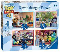 Cover of Toy Story 4, 4 in a Box - 4005556068333