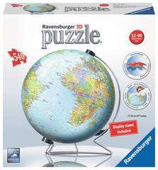 Cover of The World On V-stand 3d Puzzle 540 piece puzzle - Ravensburger - 4005556124367