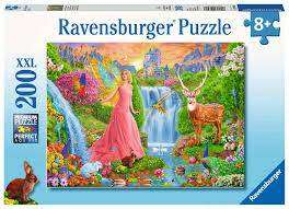 Cover of Magical Fairy Magic XXL 200 piece Puzzle - Ravensburger - 4005556126248