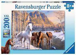Cover of Winter Horses XXL 200 piece Puzzle - Ravensburger - 4005556126903
