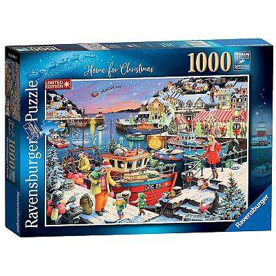 Cover of Home For Christmas! Limited Edition 2019 1000pc Puzzle - Ravensburger - 4005556139910