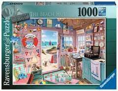 Cover of My Haven No. 7, The Beach Hut 1000 piece Puzzle - Ravensburger - 4005556150007