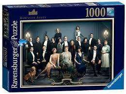 Cover of Downton Abbey Movie 1000 Piece Puzzle - Ravensburger - 4005556150342