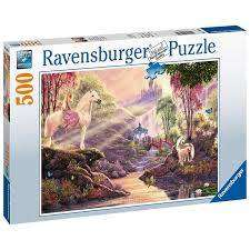 Cover of The Magic River 500 Piece Puzzle - Ravensburger - 4005556150359