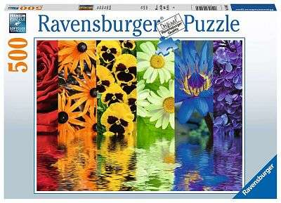 Cover of Floral Reflections 500 pieces - Ravensburger - 4005556164462