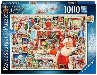 Cover of Christmas is Coming! Limited Edition 2020 1000 piece puzzle - Ravensburger - 4005556165117