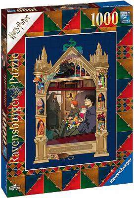 Cover of Harry Potter Hogwarts 1000 pieces - Ravensburger - 4005556165155
