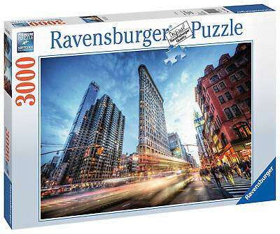 Cover of Flat Iron Building, New York, 3000pc - Ravensburger - 4005556170753