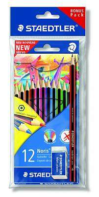 Cover of 12 Norris Colouring Pencils - Staedtler - 4007817011454