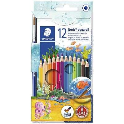 Cover of Noris 12 WATERCOLOUR PENCILS - 4007817144268