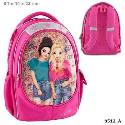 Cover of Top Model Friends Backpack Pink - 4010070372460