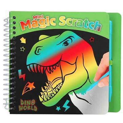 Cover of Dino World Scratch Pad - 4010070418458