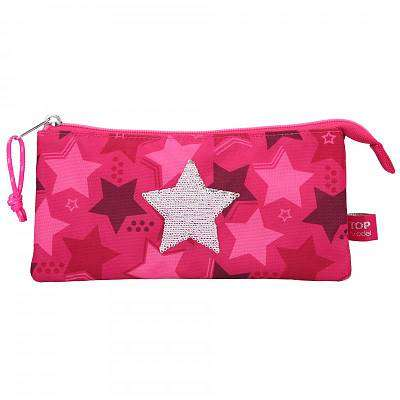 Cover of TOPModel Pencil Tube Star Reversible Sequins Pink - 4010070419363