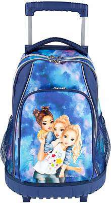 Cover of Top Model Backpack Trolly Watercolour - 4010070425159