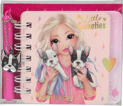 Cover of Top Model Mini Notebook with ballpoint pen - 4010070429362