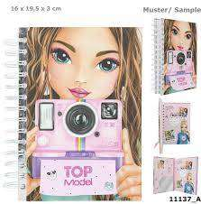Cover of TopModel Notebook with Selfie - 4010070542269