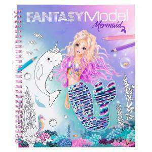 Cover of Fantasy Model Colouring Book Mermaid - 4010070544997