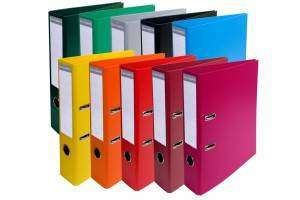 Cover of Lever Arch Folder Assorted Colours - Exacompta - 4010960918433